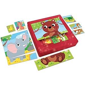 Lisciani Giochi 58433 Carotina Baby Progressive Puzzle Puppies