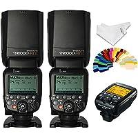 YONGNUO YN024 YN600EX-RT Wireless Flash Speedlite 2 Piece Plus YN-E3-RT Radio Transmitter for Canon DSLR Cameras
