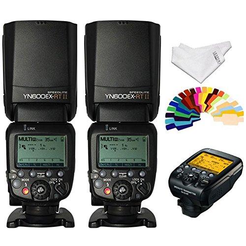 YONGNUO YN024 YN600EX-RT Wireless Flash Speedlite 2 Piece Plus YN-E3-RT Radio Transmitter for Canon DSLR Cameras (Yongnuo 600ex Rt Vs 600ex Rt Ii)