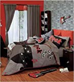 Rock and Roll Teen's Best Seller Reversible Comforter (FULL / QUEEN)