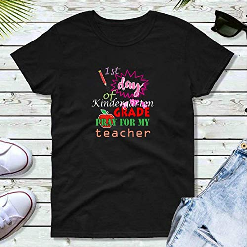 1st day of kindergarten funny design T-shirt print motifs make the best gift ideas for friends