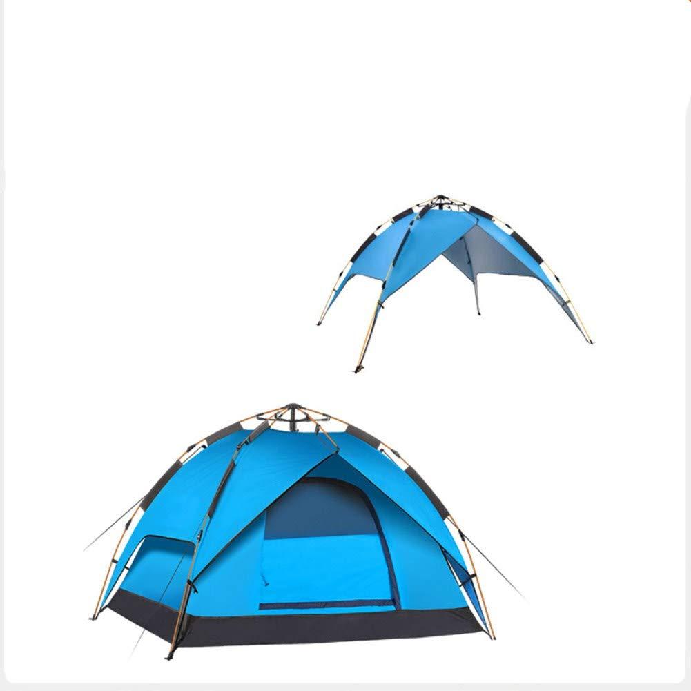 HUIYUE Doppelte Outdoor Zelt,Automatische Zelt Frühling,Strandzelt,Wasserdicht Bergsteigen Camping Camping-ausrüstung-I 180x140x100cm(71x55x39inch)
