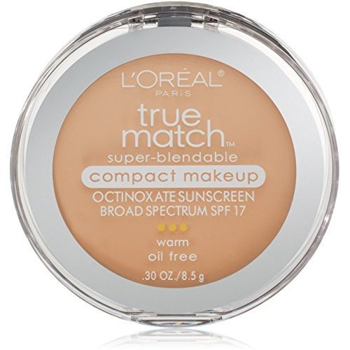 - L'Oreal True Match Super-Blendable Compact Makeup, Light Ivory [W2], 0.30 oz (Pack of 2)