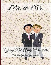 Mr. & Mr. Gay Wedding Planner For Budget Savvy Couples: Same-Sex Wedding Planning Journal For LGBTQ Couples - Handsome Husbands