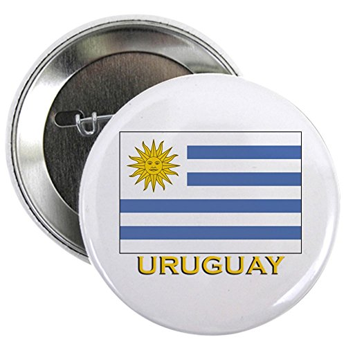 CafePress - Uruguay Flag Stuff Button - 2.25