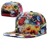 NBA Baycik Snap Back Miami Heat Snapback Cap Hat