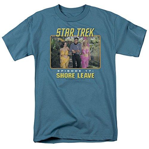 Star Trek - Shore Leave T-Shirt Size - Mens Leave Shore
