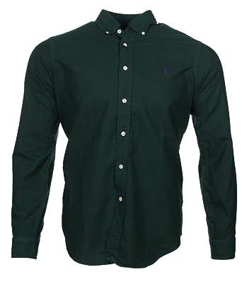 807d43d7e2437e Ralph Lauren Classic Fit Hemden aus Reiner Baumwolle  Amazon.de ...