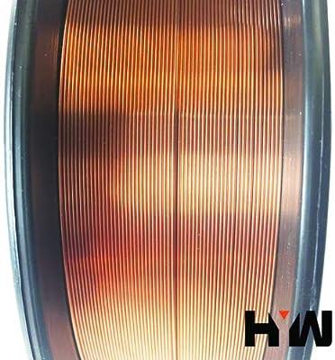 """10 lb Roll ER70S-6 .023/"""" .030/"""" .035/"""" .045/"""" Mild Steel Mig Welding Wire"""
