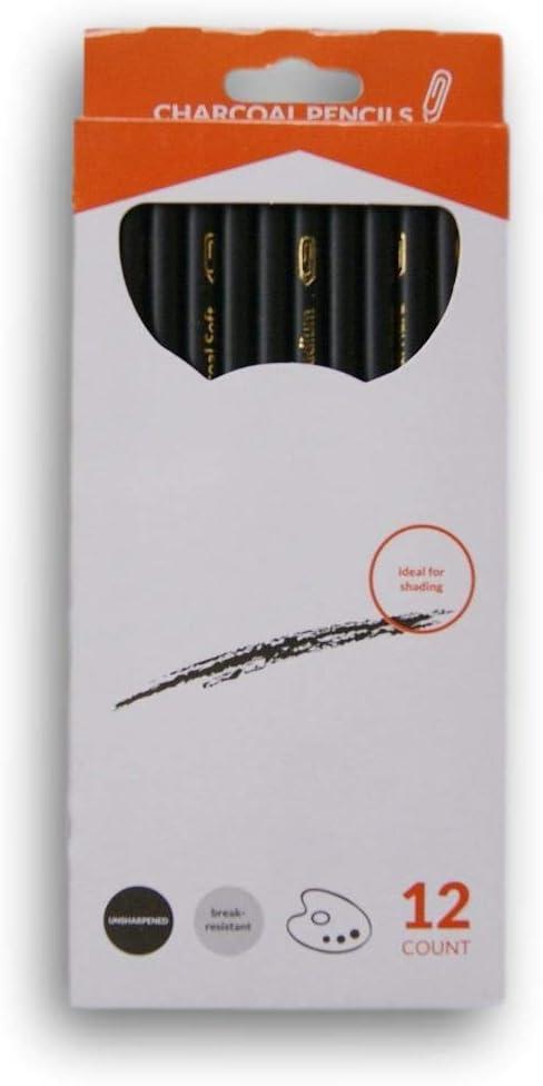 12 Count Charcoal Pencils