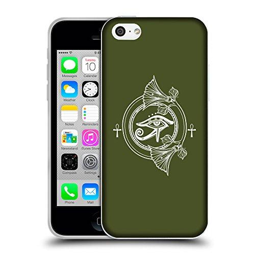 GoGoMobile Coque de Protection TPU Silicone Case pour // Q09910605 Religion 31 armée verte // Apple iPhone 5C