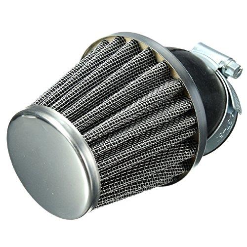 Alamor 40Mm 45 Grado Filtro De Aire Negro para 50Cc 110Cc 125Cc 140Cc Pit Dirt Bike Bici De Motor