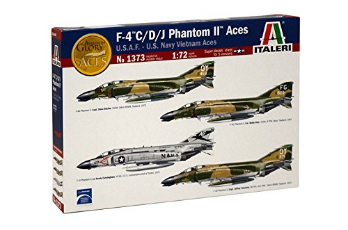 Italeri 1373S 1/72 F-4 C/D/J Phantom USAF/Navy/Vietnam, used for sale  Delivered anywhere in USA