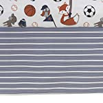 Bedtime-Originals-Baby-League-GrayBlue-7-Piece-Baby-Crib-Bedding-Set-Boy-SportsAnimal-Theme