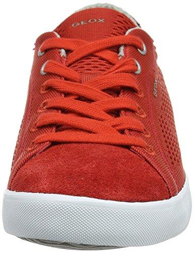 Scarpe Basse Ginnastica U Red Uomo Rosso Redc7015 da Smart Geox B FwxtnSnq