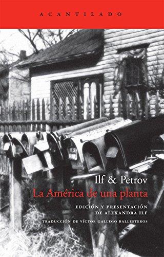 La América de una planta (El Acantilado) Ilf & Petrov