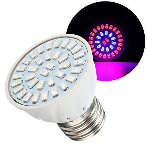 Hitommy E27 5W LED Grow Light Planting Flower Lamp Bulb Full Spectrum Hydroponic - 220V
