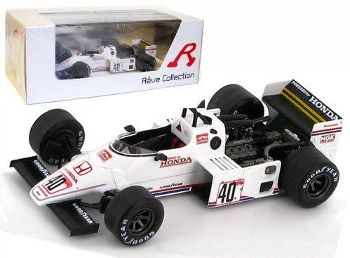 1/43 スピリット ホンダ201C 1983年イギリスGP #40 S.Johansson R70252