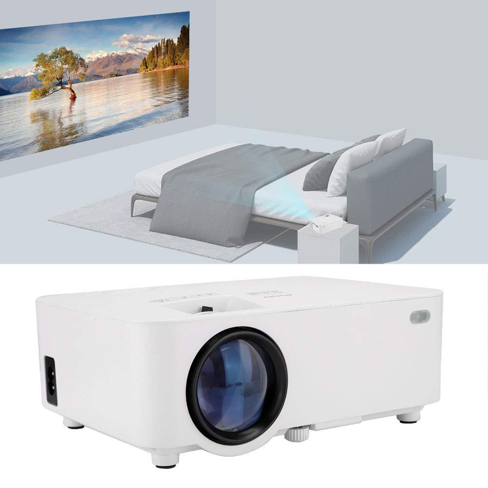 Proyector de Video, 800x480 1800 lúmenes Ansi 30,000HRS Proyector ...