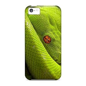 green Snake Personal phone skins stylish Impact Iphone5c iphone 5c