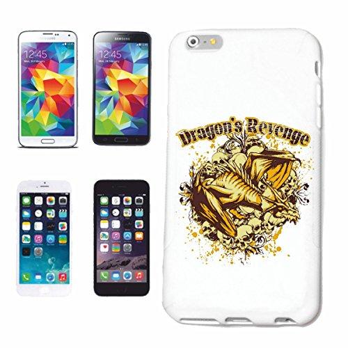 """cas de téléphone iPhone 7+ Plus """"DRAGON REVENGE Lifestyle Mode STREETWEAR HIPHOP SALSA LEGENDARY"""" Hard Case Cover Téléphone Covers Smart Cover pour Apple iPhone en blanc"""