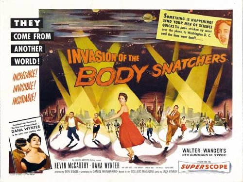 Invasion of The Body Snatchers UK Movie Poster 1956