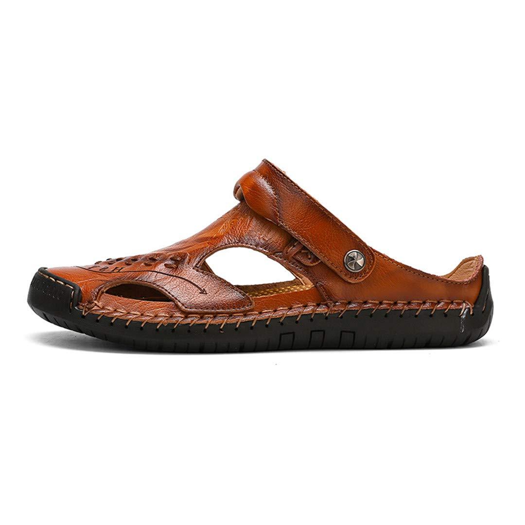 Men Comfortable Men Summer Shoes Genuine Leather Big Size Soft