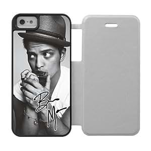 Custom New Laser Technology Phone Case Bruno Mars Back Cover Case For iPhone 5, 5S Shaken de ps705