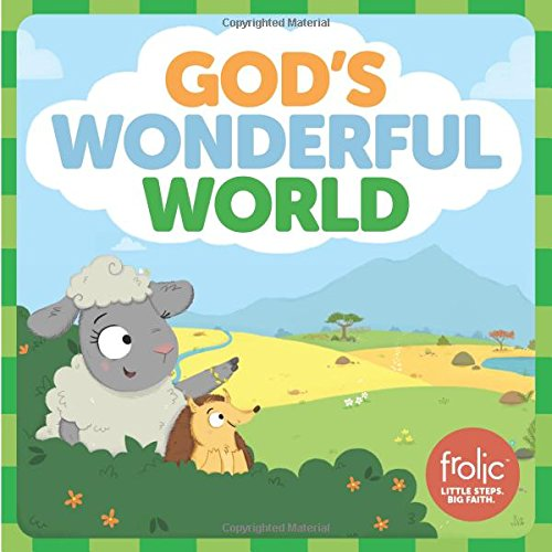 - God's Wonderful World: A Book about the Five Senses (Frolic First Faith)