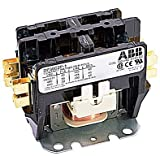 ABB, DP30C2P-2, 2 Pole, 30 Amps, 240VAC Coil, Definite Purpose Contactor
