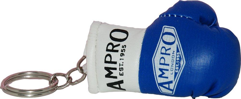 Ampro–Llavero con réplica de guante de boxeo para coleccionar o llevar las