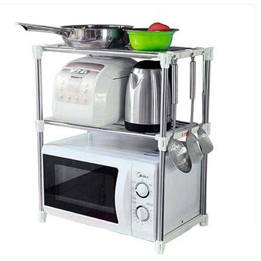 WOYQS Rack de Cocina Microondas Horno Rack Organizador de ...