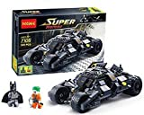 Lego Style Bat Mobile Batman Joker Building Blocks Play Set for kids