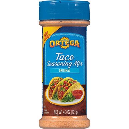 Ortega Seasoning Mix, Taco Seasoning, 4.3 (Ortega Taco Dinner)