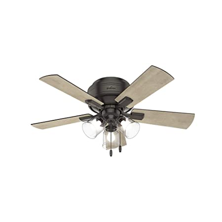Hunter Fan Company 52153 Hunter 42 Crestfield Noble Bronze LED Light Ceiling Fan