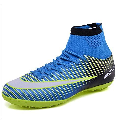 Estudiantes de Niños fútbol Niños WSK rotas Zapatos que de Uñas entrenan de hombre alta adultos ayuda zapatos fútbol Zapatos Hierba de zzqwExZO