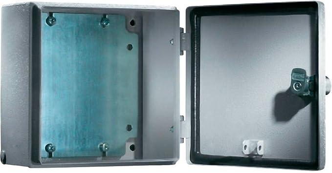 Rittal 1557.500 caja eléctrica Acero IP66 - Caja para cuadro eléctrico (200 mm, 120 mm, 500 mm): Amazon.es: Bricolaje y herramientas