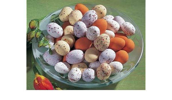 Nest Huevos (600g) dragierte kibitz Huevos con mazapán País y pájaro Huevos con chocolate de Salvaje de relleno: Amazon.es: Oficina y papelería