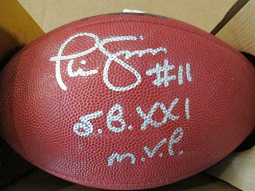 Authentic Signed Phil Simms