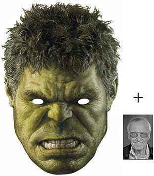 15X10Cm The Hulk Marvel Avengers Age of Ultron Single Karte Partei Gesichtsmasken starfoto Maske Enth/ält 6X4