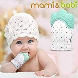 Baby Teething Mitten, Mami&babi Teether for Baby...