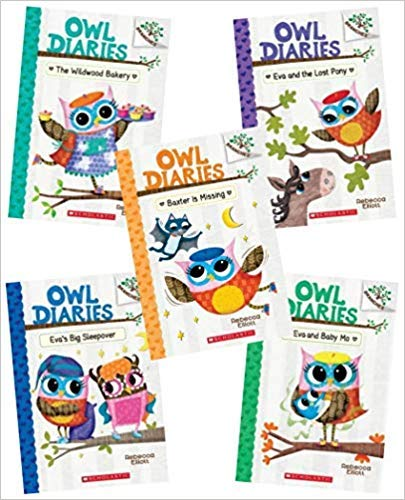 Owl Diaries Five Branches Books Collection Set ( Books 6- 10 ) Paperback – January 1, 2007
