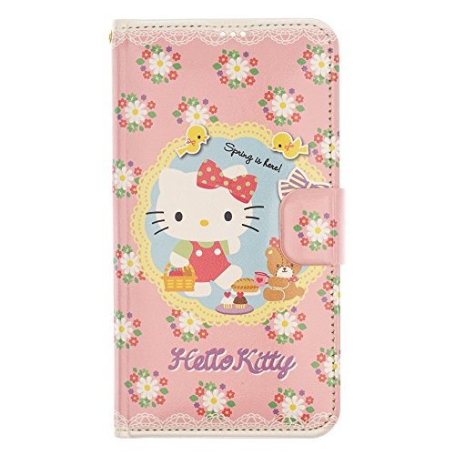 iPhone SE/iPhone 5S / iPhone 5 Case Hello Kitty Cute Diary Wallet Flip Synthetic Leather Anti-Shock Mirror Cover for [ Apple iPhone SE / 5S / 5 ] Case - Hello Kitty Diary (Iphone 5s Cases Hello Kitty)
