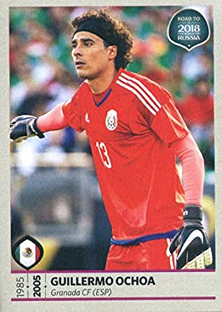 5f2467cff3c Amazon.com: 2017 Panini Road to 2018 FIFA World Cup Russia #417 Guillermo  Ochoa Mexico Soccer Sticker: Collectibles & Fine Art