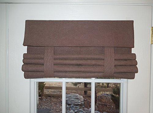Brown Speckled French Door Curtain 1 panel