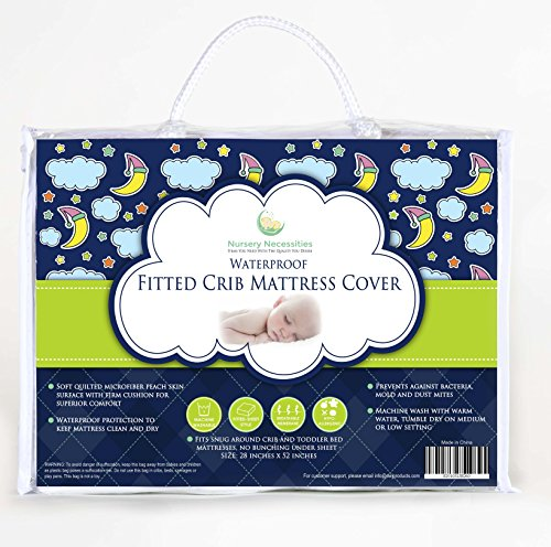 Top-Rated-Crib-Mattress-Pad-Now-in-Pack-N-Play-Size-Too-Waterproof-Hypoallergenic-Breathable-PVC-Free-Superior-Quality-Protector-with-Silky-Soft-Quilted-Top-by-Nursery-Necessities