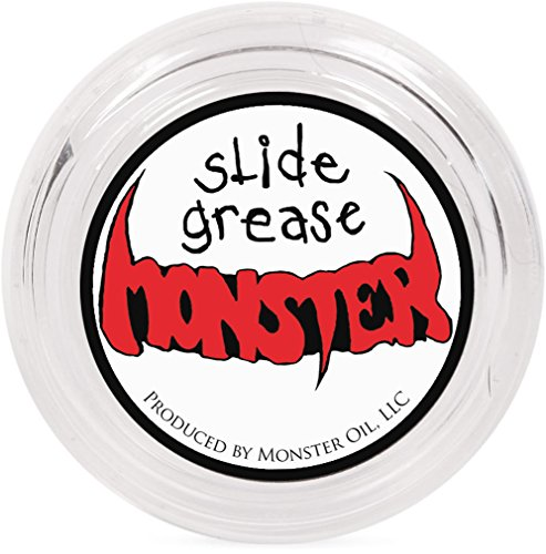 (Monster Oil Grease | Synthetic Tuning Slide Lube for Trumpet, Trombone, French Horn, Tuba, Euphonium and other Brass Instruments)
