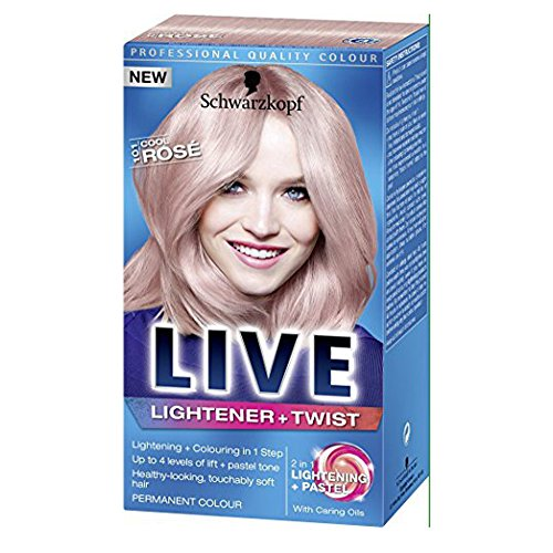 Price comparison product image Schwarzkopf Live Lightener +Twist 101Cool Rose by Schwarzkopf