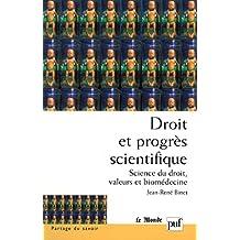 Droit et progrès scientifique (Partage du savoir) (French Edition)