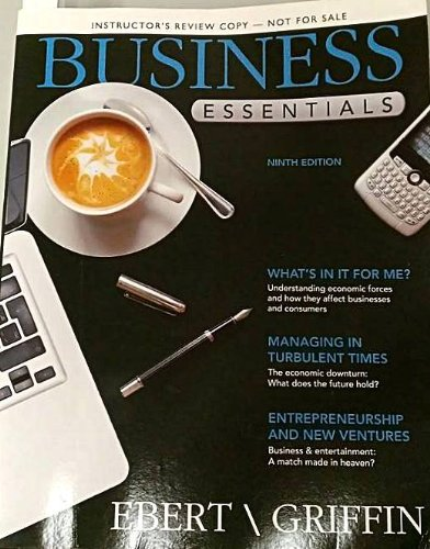 Business Essentials,  9th Edition